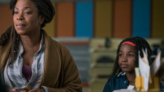 "Bo (Lorraine Toussaint) and Lila (Saniyya Sidney) in ""Fast Color."""