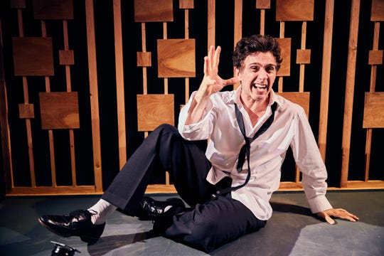 """Ronnie Marmo wrote and stars in """"I'm Not A Comedian ... I'm Lenny Bruce,"""" which just extended its off-Broadway run."""
