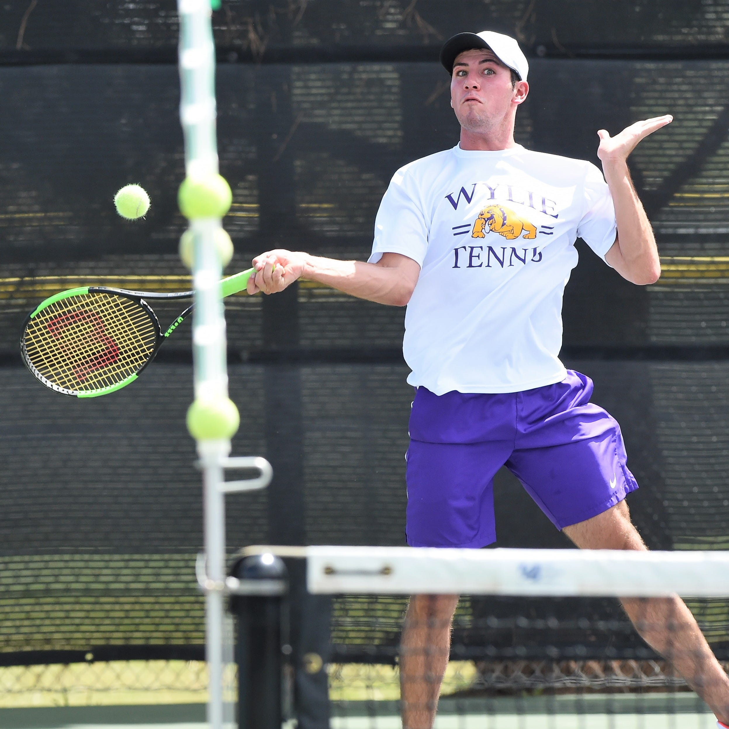 Abilene Wylie's Adkins, Elias reach Region I-5A mixed doubles final
