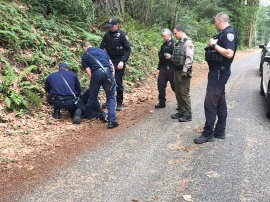 The Kitsap County Sheriff's Office posted this photo of the suspect following his arrest.