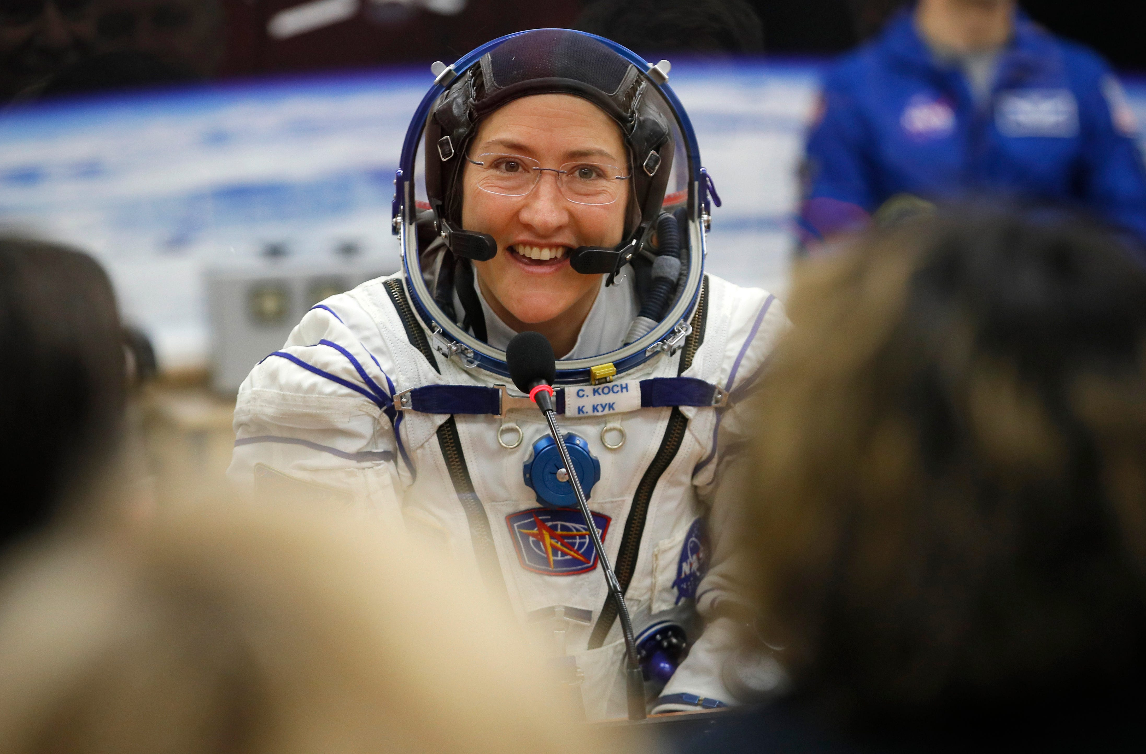 Breaking news: First female spacewalk is set, again. NASA says it sent the correct size spacesuit this time