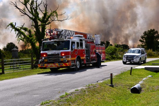 Central Florida brush fires are common in late spring and early summer as dry vegetation and hot conditions collide.