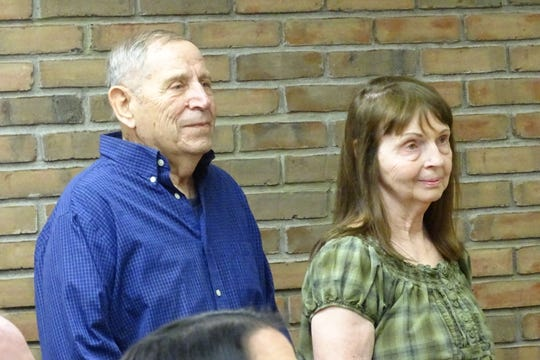 Richard and Helen Michalek have agreed to donate an acre of land adjacent to Aumiller Park's tennis courts to the city.