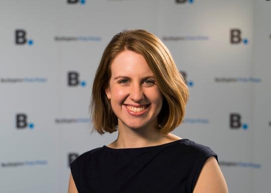 Burlington Free Press Reporter April McCullum.
