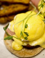 Eggs Benedict may be the most-common item on Easter-brunch menus this season.