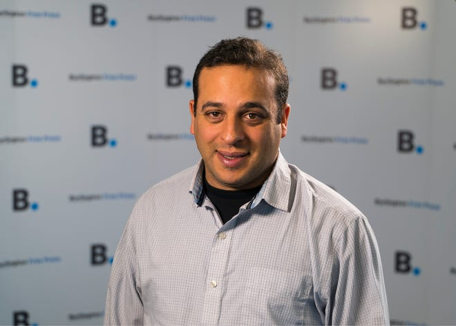 Burlington Free Press Reporter Alex Abrami.