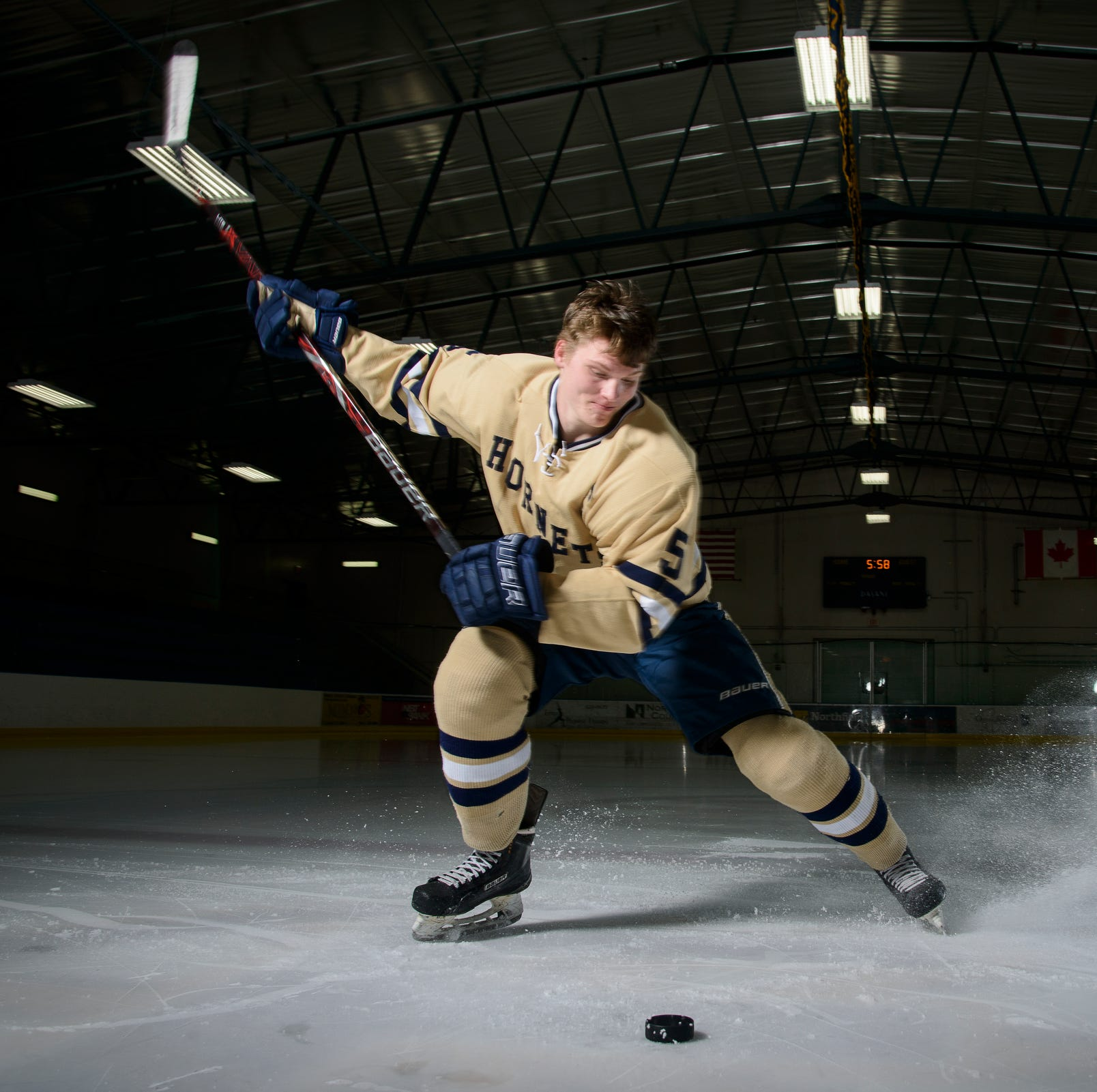 Essex's Jonah Janaro is the Free Press' Mr. Hockey for 2019