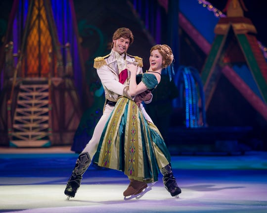 """Disney On Ice """"Frozen"""" will have five performances May 2-5 at American Bank Center in Corpus Christi."""