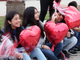 "Garcia Elementary School students and staff participated in a ""Best Wishes Parade"" in honor of Ethann Valdez, 9, on Wednesday, April 17, 2019. Diagnosed at the age of five with geleophysic dysplasia (known as dwarfism), Ethann will be out of school for the rest of the year as he undergoes open heart surgery for a valve replacement to the main aorta of his heart. The school wanted to send him off with a ""Best Wishes Parade"" before he left."