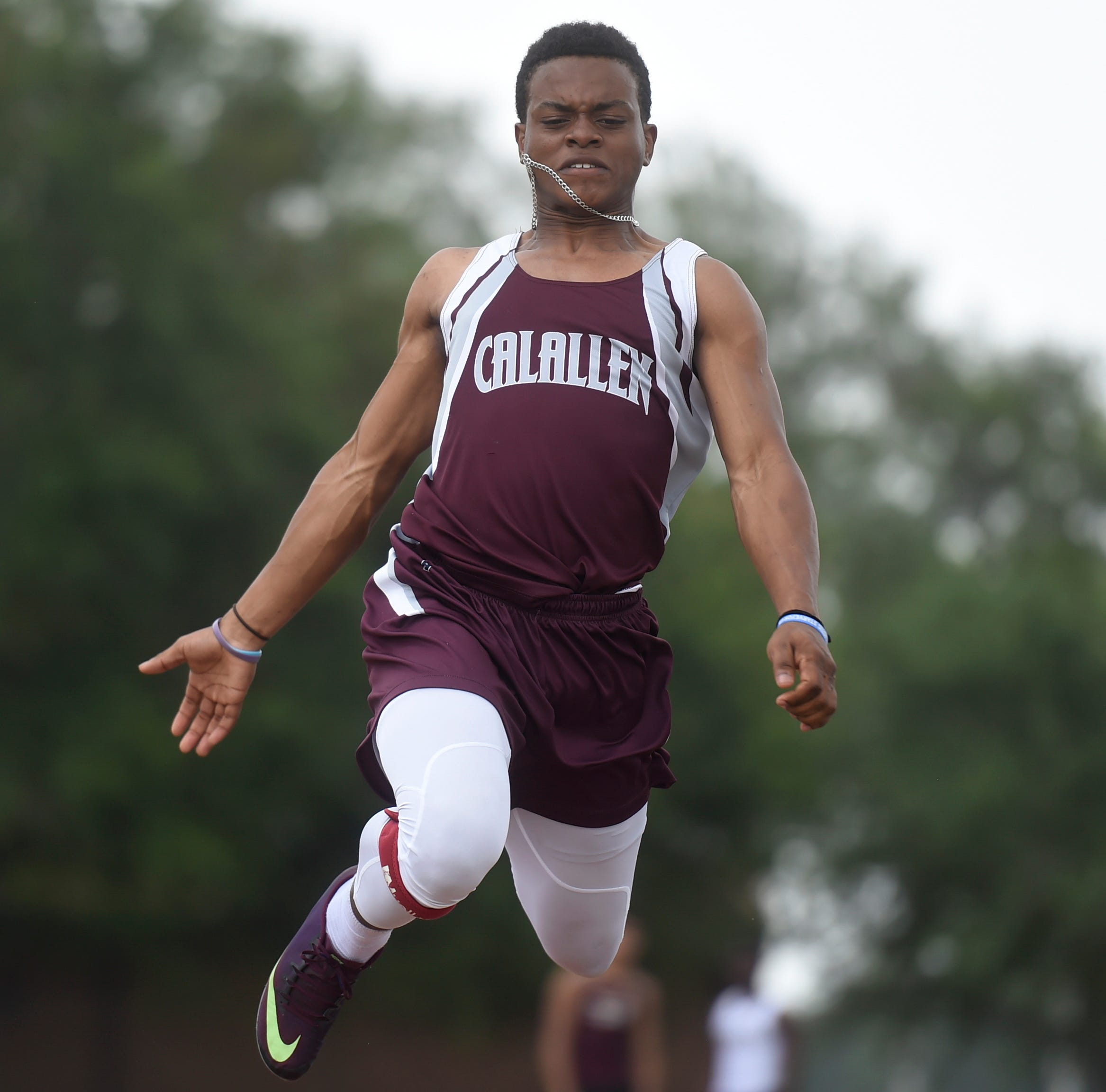 Calallen's Price doubles in triple and long jump at area track meet