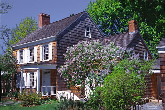 The farmhouse where Walt Whitman lived for the first four years of his life in Huntington, Long Island. It is in the care of the Walt Whitman Birthplace Association and is a state park.