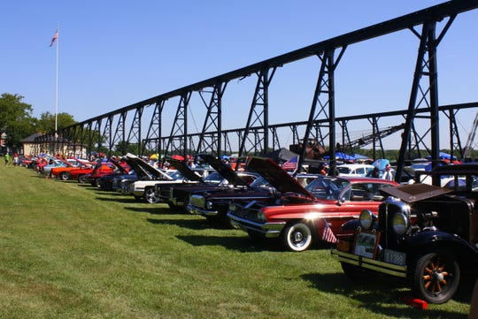 An annual antique car show at the Roebling Museum grounds will be April 27.