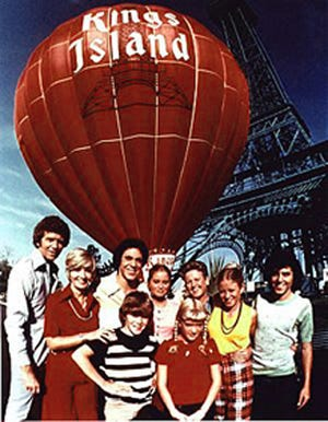 """The Brady Bunch"" cast came to Kings Island in 1973."