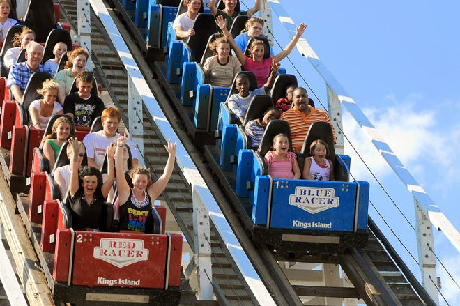 TUESDAY, Feb. 17, 2009 KINGS ISLAND OUR TOWN Promotional photo of the Racer.