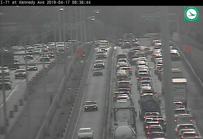 I-71 northbound is closed