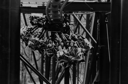 Glenn Auto Mall >> Vortex roller coaster at Kings Island is closing after 33 seasons