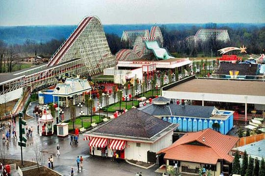 Kings Island opened its gates on April 29, 1972.