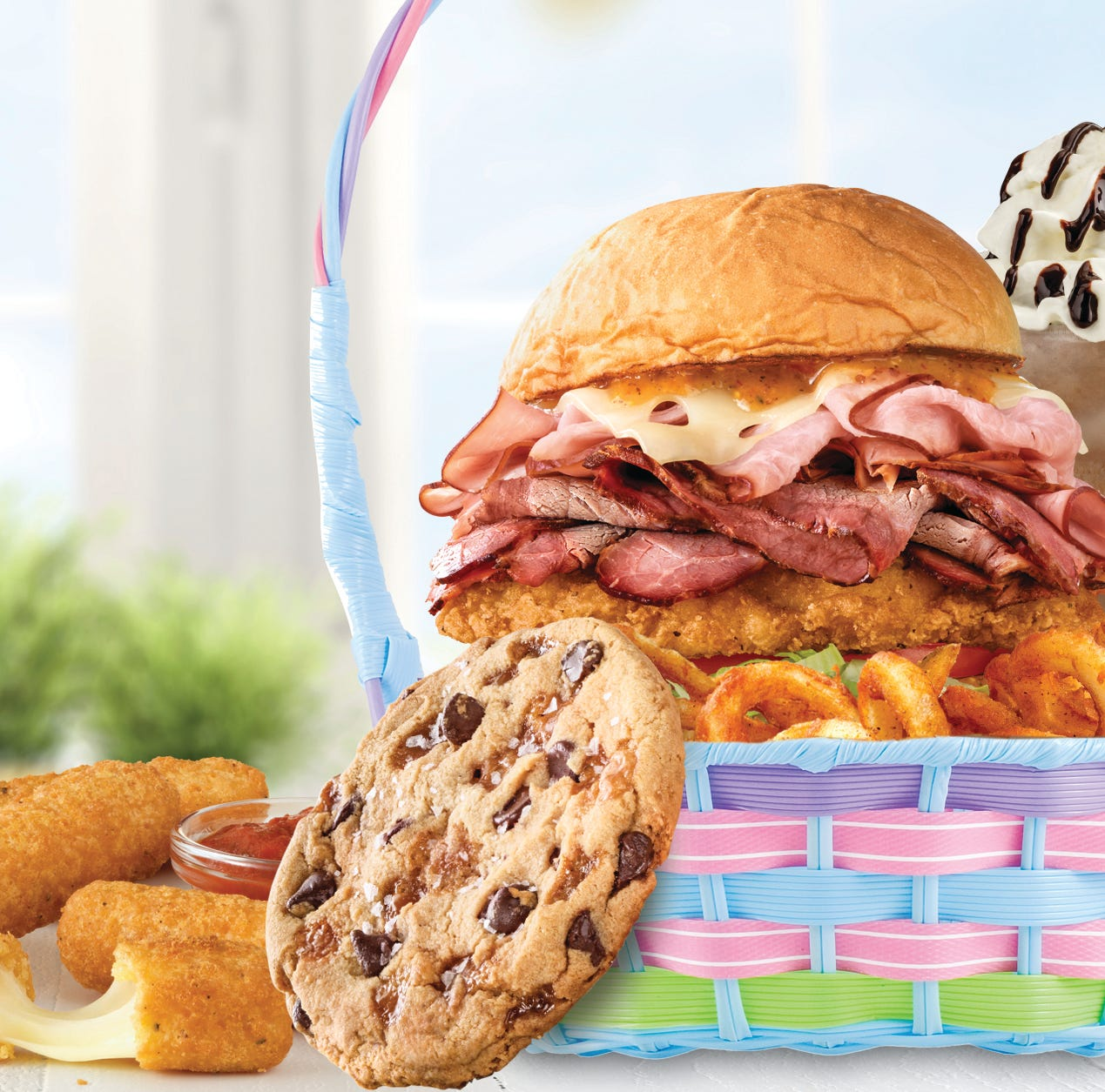 """Arby's  """"Easter Feaster"""" available on Easter only"""