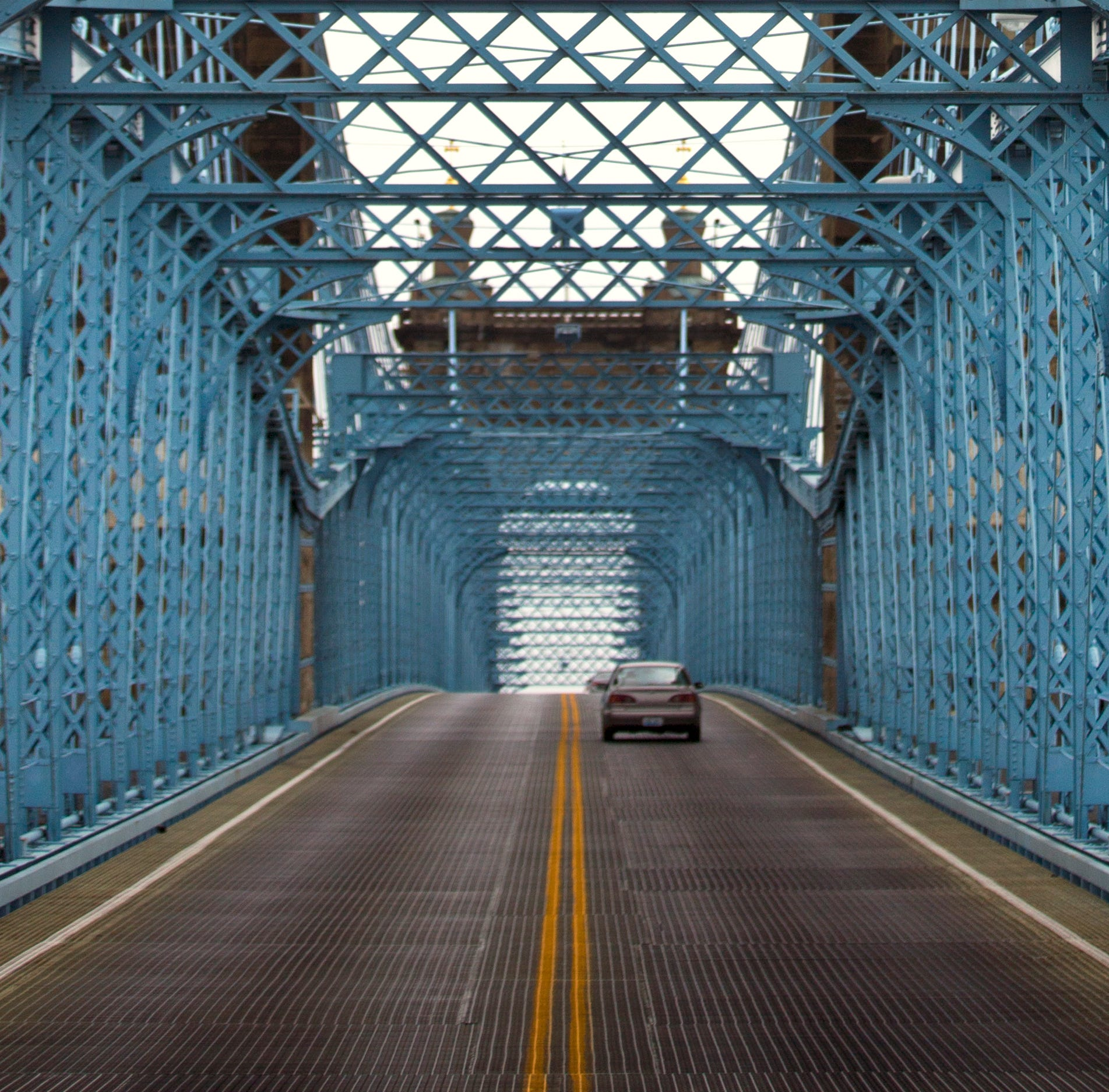 John A. Roebling Bridge will be closed to cars for at least two weeks