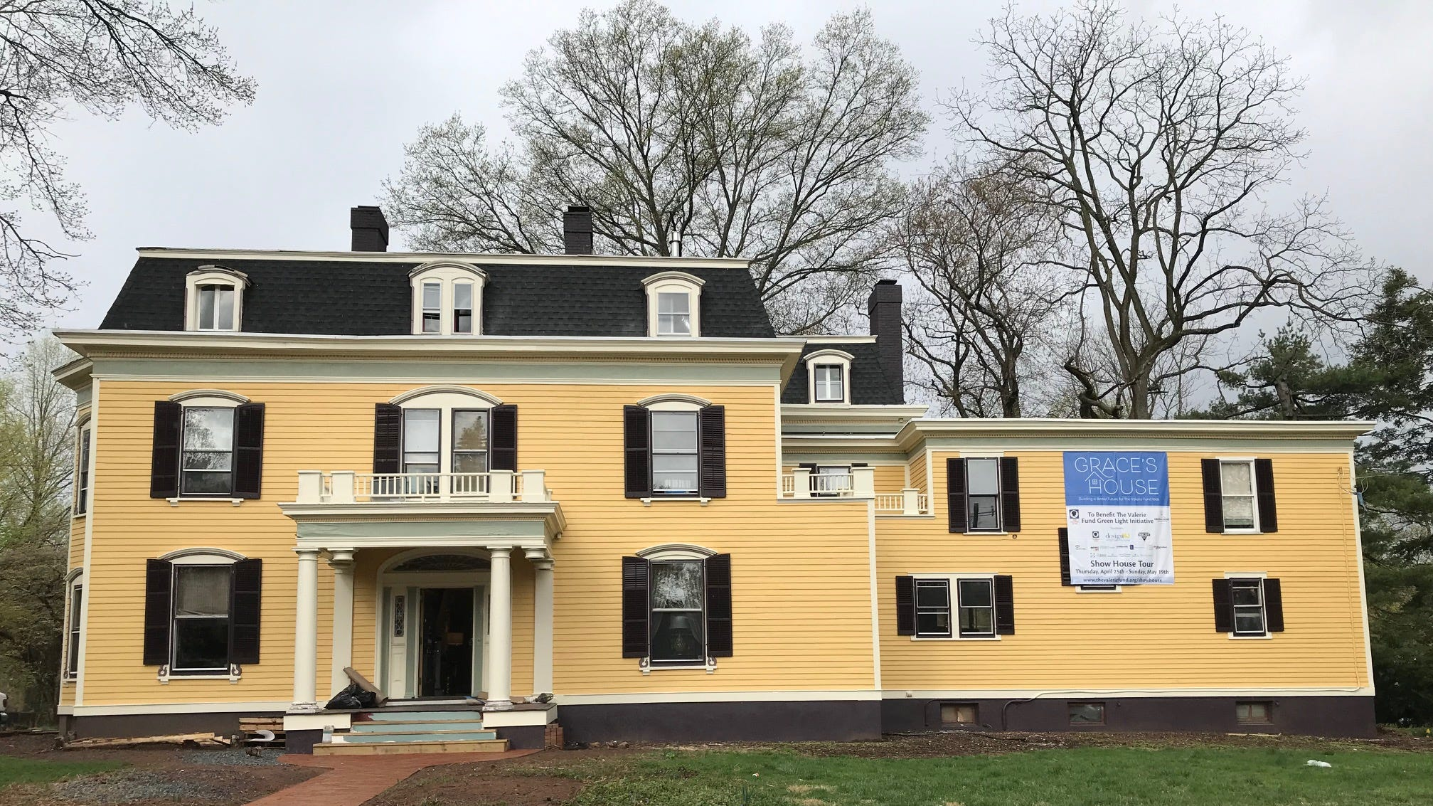 Renovated Plainfield 1870 mansion on Hillside Avenue