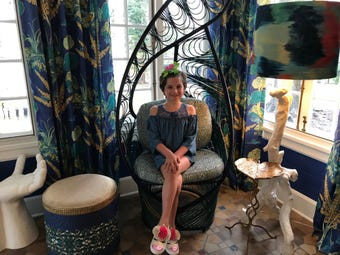 Grace Eline's grandfather renovated a Plainfield mansion, which has been decorated by designers,  to serve as a fundraiser for The Valerie Fund to give back to the organization following his granddaughter's successful battle with pediatric cancer.