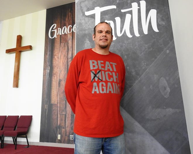 James Richard is recovering from more than 20 years of drug and alcohol addiction with the help of faith. He attends the RU Recovery program at Chili Crossroads Bible Church and is seeking treatment at Coshocton Behavioral Health Choices.