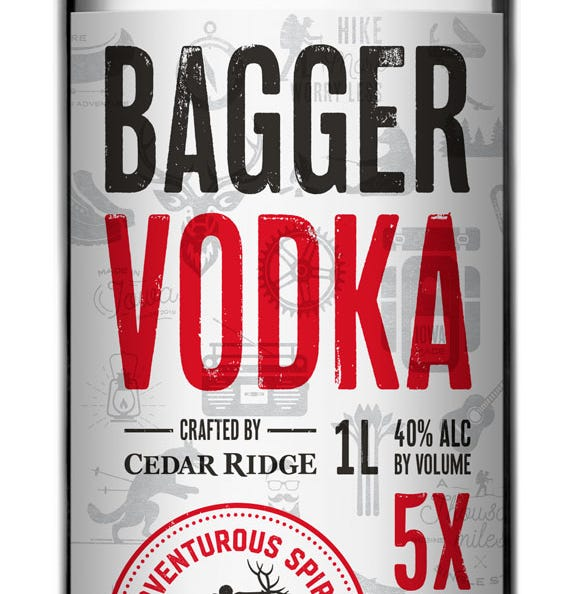 Cedar Ridge launches new vodka to help preserve the Iowa trail system
