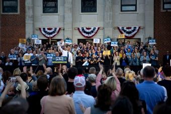 Two months ago on Pete Buttigieg's first trip to Iowa, the crowds were small. His most recent trip was a different story.