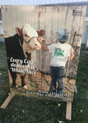 Hereford Breeders photo placard