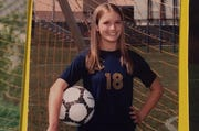 Kate Mahon played soccer and ran track and cross country for Haslett High School.