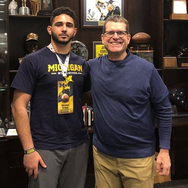 Michigan football recruiting: What to like about 2021 commit Giovanni El-Hadi