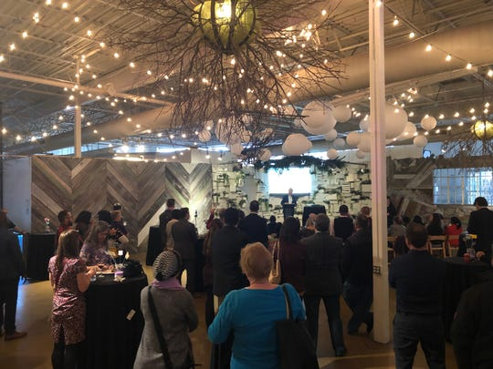 Ferndale Mayor Dave Coulter announced during his State of the City address April 16, 2019 at the Rust Belt Market that he wouldn't be running for re-election in November.
