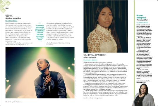 Dream Hampton is featured in the Time 100 issue.