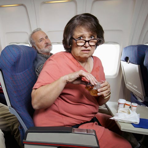 Aunt's fear of flying interferes with wedding plans