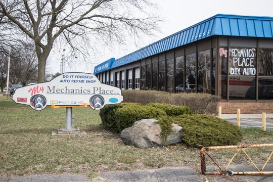 My Mechanics Place in Livonia, Thursday, April 11, 2019.