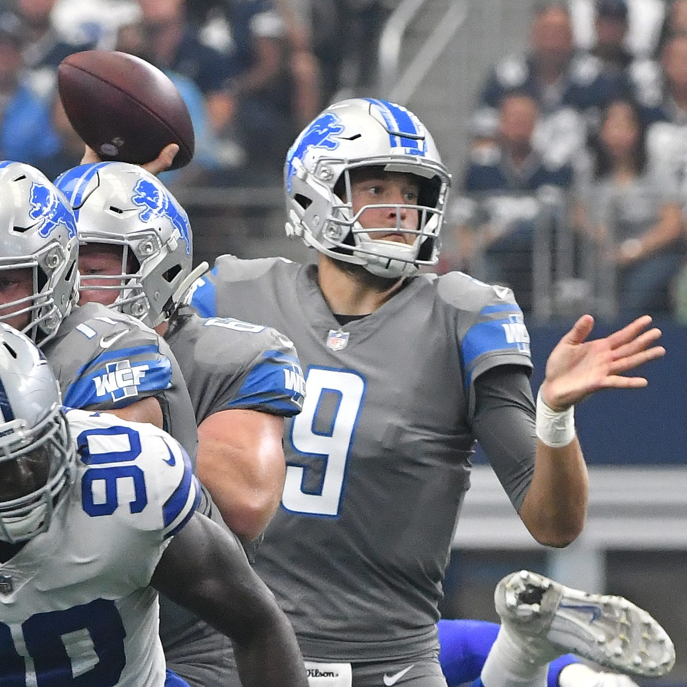 Lions grinding through start of offseason program without Matthew Stafford, Damon Harrison