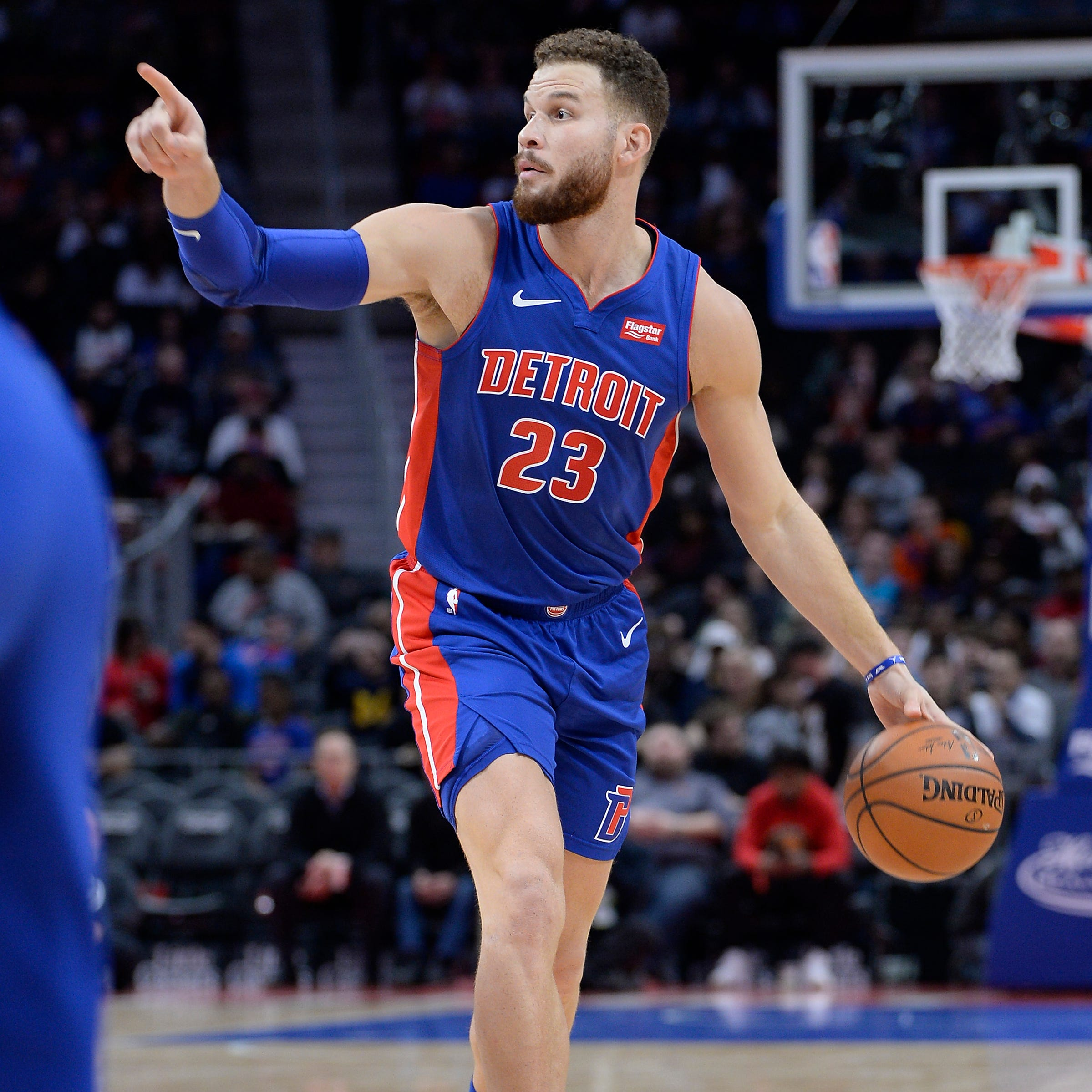 'We'll find out:' Pistons' Blake Griffin remains questionable for Game 2