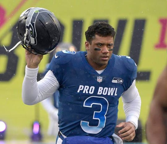 Seahawks' Russell Wilson will earn an average of $35 million a year under a four-year extension.