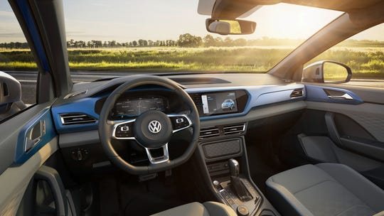 VW Tarok, Volkswagen's concept pickup truck was unveiled at the New York Auto Show.