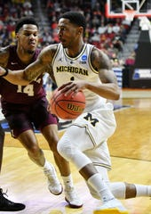 Charles Matthews, a redshirt junior, announced on Wednesday that he will forgo his final season of eligibility at Michigan and stay in the NBA draft.