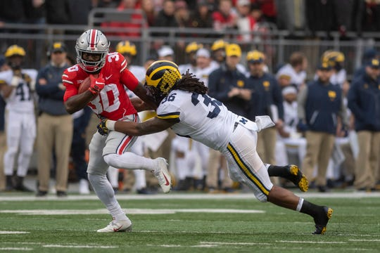"""Michigan linebacker Devin Gil says his position group is holding itself to a """"higher standard"""" because of the departure of Devin Bush, a surefire first-round NFL Draft pick."""