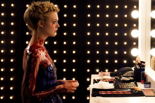 "Elle Fanning in ""The Neon Demon."""