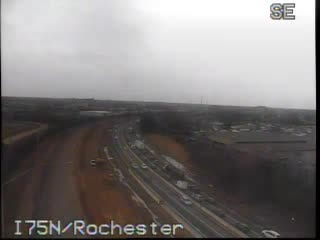 A disabled semi truck is causing backups at Interstate 75 and Rochester Road in Troy.