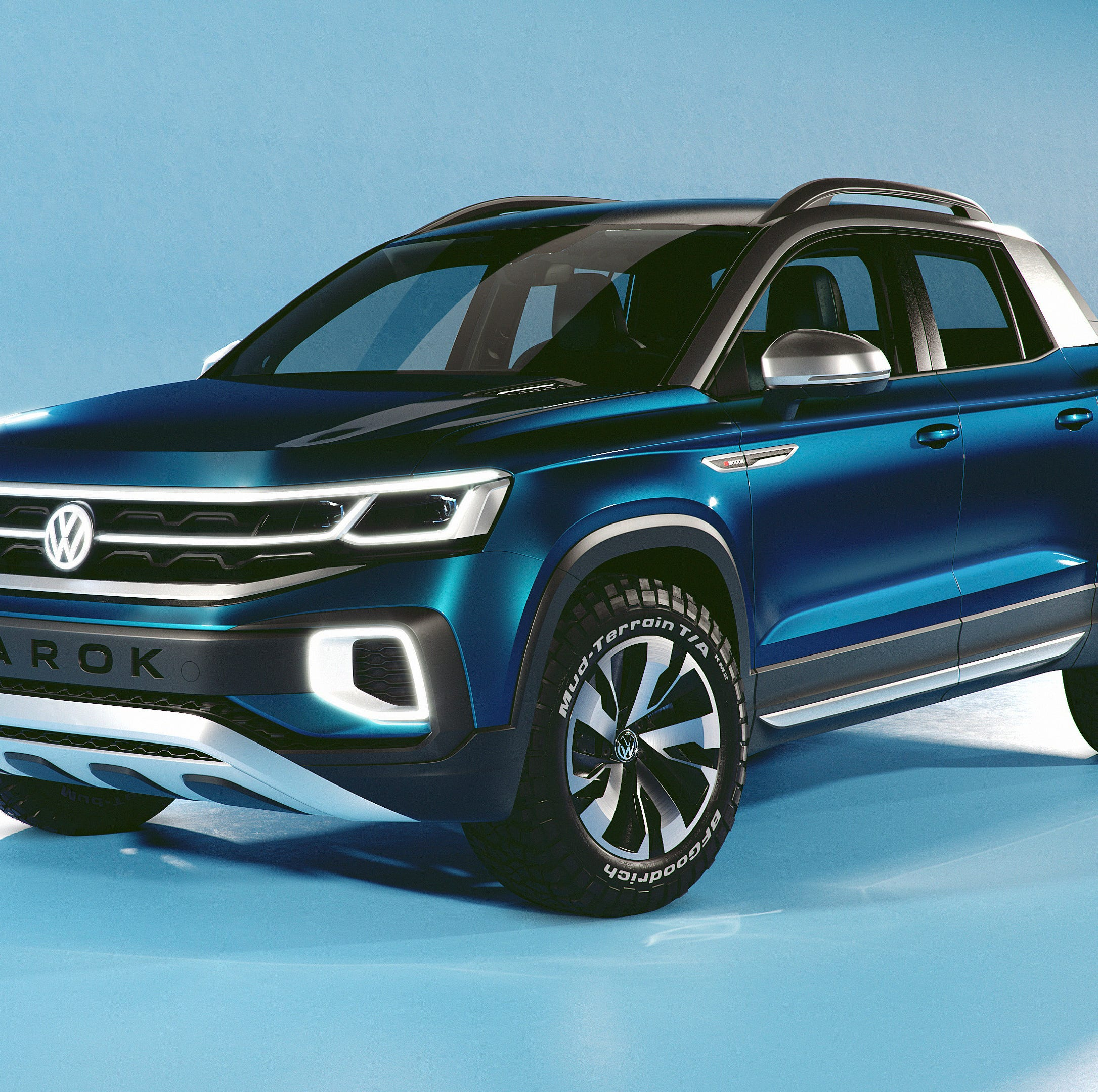 VW tests the waters with a midsize pickup concept