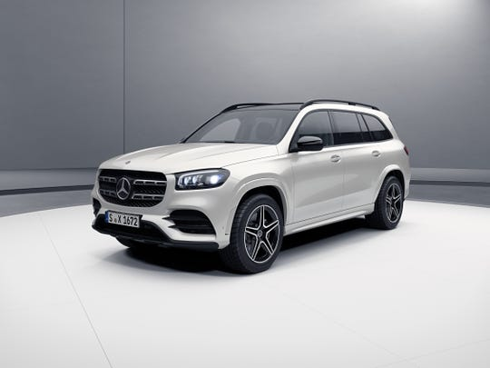 Mercedes debuted its giant three-row, gas-guzzling GLS SUV  on Wednesday in New York.