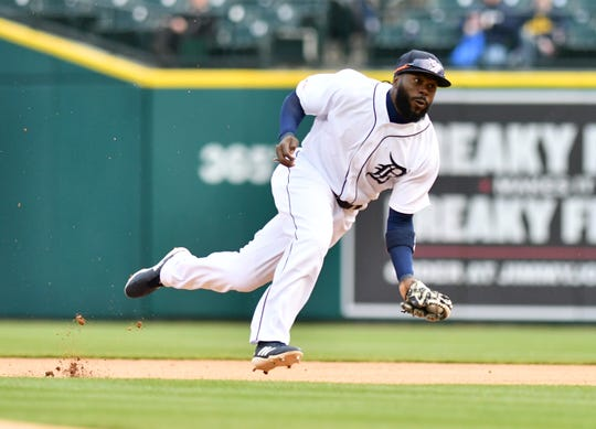 Tigers second baseman Josh Harrison had been out since April 26 with a shoulder contusion.