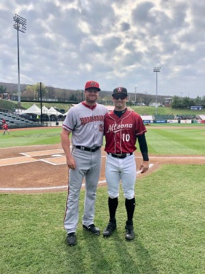 Aaron Barrett, Hunter Owen get reacquainted in Double-A Eastern League.
