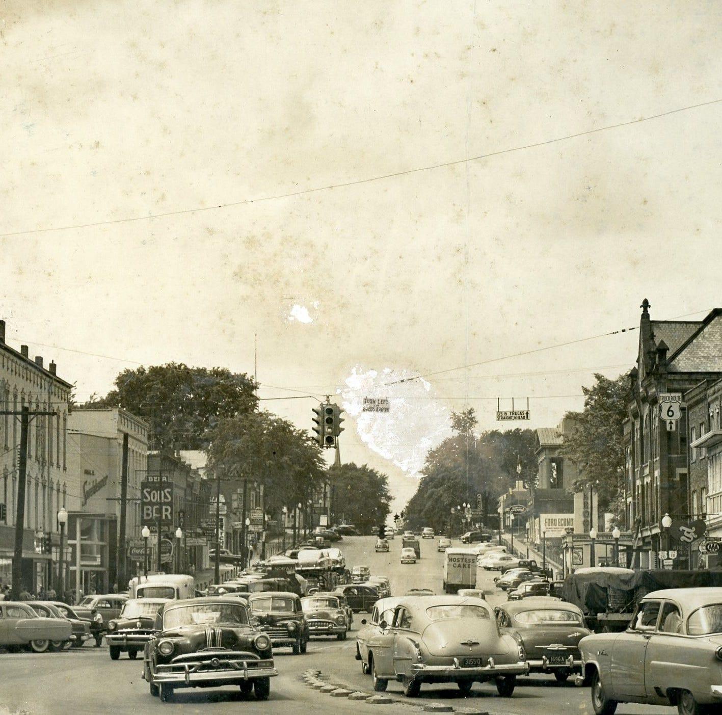 History Spotlight: A 1950s rush hour