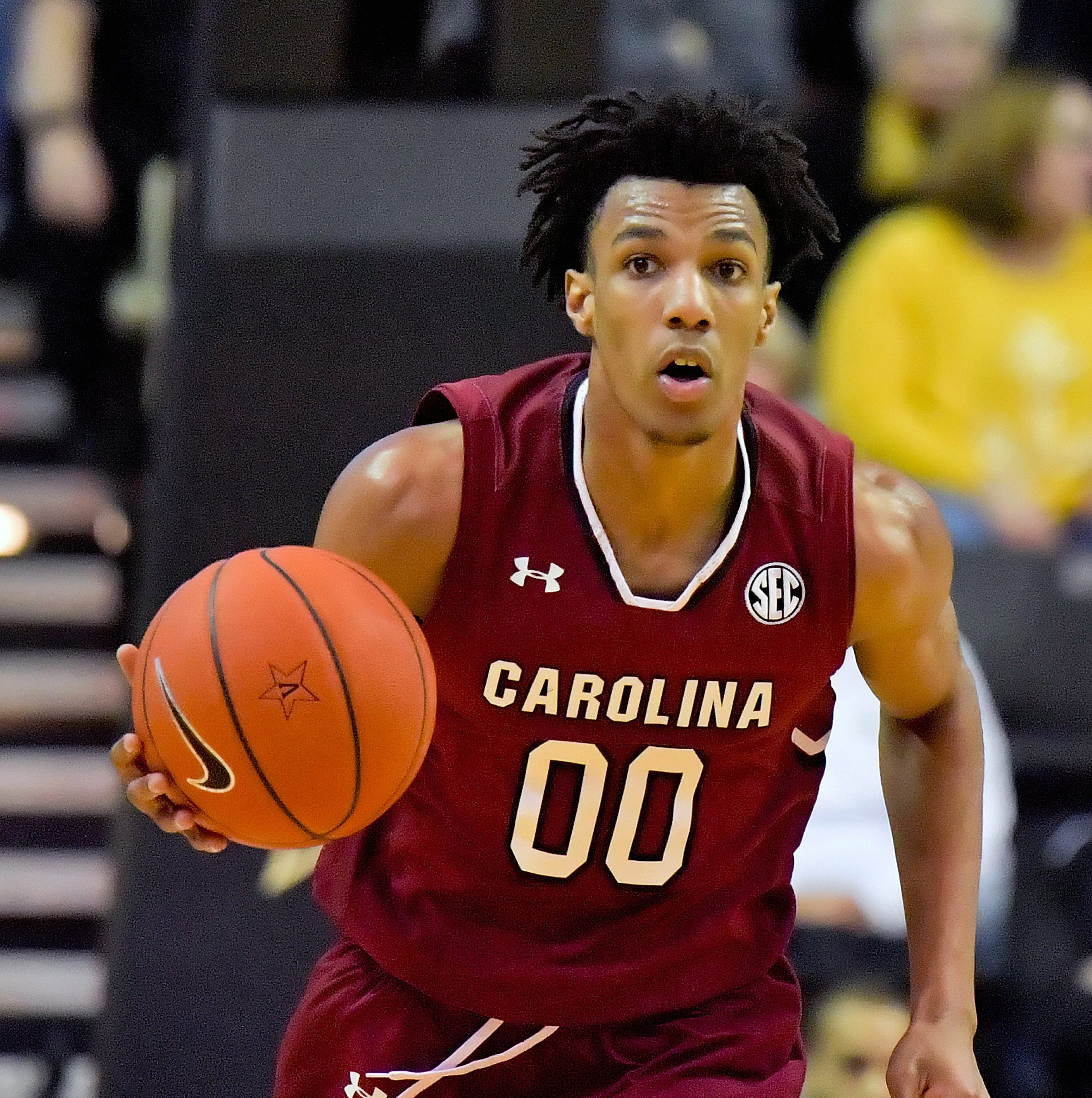 South Carolina basketball player A.J. Lawson announces plans for NBA draft