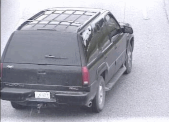 Marco Vaught, 36, is wanted by Pickens police on charges of kidnapping and attempted murder. He was last seen in the pictured vehicle.